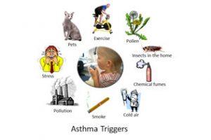 Avoiding asthma triggers 6